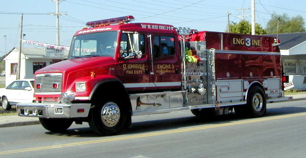 The fire department placed into service this 2002 Central States 1500 gpm engine